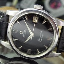 Omega Seamaster Steel 34mm Black No numerals