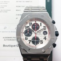 Audemars Piguet 26170ST.OO.1000ST.01 Steel 2014 Royal Oak Offshore Chronograph 42mm pre-owned United States of America, New York, NYC
