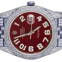 Rolex Datejust II Steel 40mm Red United States of America, Georgia, Atlanta
