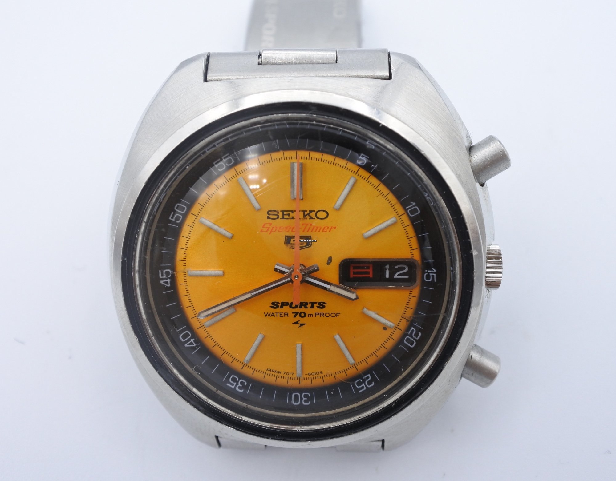 f675c230f Seiko Speedtimer 5 Sports vintage Chronograph ref.7017 6010 for ...