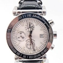 Salvatore Ferragamo Steel 42mm Automatic F50LCA pre-owned United States of America, Illinois, BUFFALO GROVE