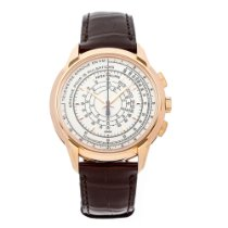 Patek Philippe Rose gold Automatic White Arabic numerals 40mm new Chronograph