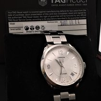 TAG Heuer Carrera Stål 36mm Vit Arabiska