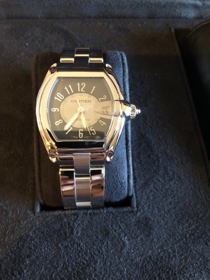 fa371bfb57 Cartier Roadster horloges | Cartier Roadster horloge kopen en vergelijken  bij Chrono24