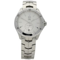 TAG Heuer Link Calibre 6 Steel 40mm Silver No numerals