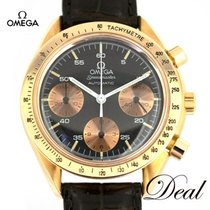 Omega Rose gold Automatic Grey 37mm pre-owned Speedmaster Reduced