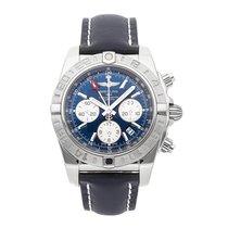 Breitling Chronomat 44 GMT Steel 44mm Blue No numerals
