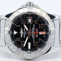 Breitling Avenger II GMT Steel 43mm Black Arabic numerals United States of America, Hawaii, Honolulu