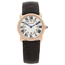 Cartier Ronde Louis Cartier Rose gold 29mm Silver Roman numerals United States of America, Georgia, Atlanta