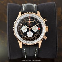 Breitling Navitimer GMT Rose gold 48mm Black United States of America, New York, Airmont