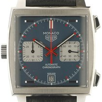 TAG Heuer Monaco Calibre 11 new Automatic Chronograph Watch with original box and original papers CAW211P