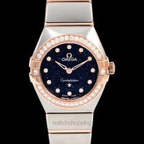 Omega Constellation Quartz 25mm Blue