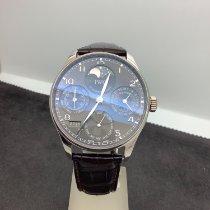 IWC Portuguese Perpetual Calendar nieuw 2011 Automatisch Horloge met originele doos en originele papieren IW502218