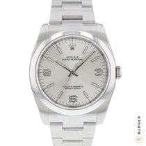Rolex Oyster Perpetual 36 Steel 36mm Arabic numerals
