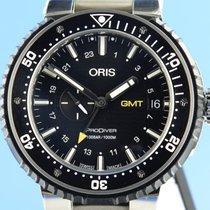 Oris ProDiver GMT 01 748 7748 7154-07 4 26 2018 pre-owned