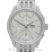 Oris Artix Chronograph Steel 44mm Silver