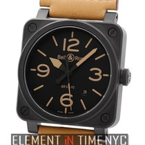 Bell & Ross BR 03-92 Ceramic Ceramic 42mm Black Arabic numerals United States of America, New York, New York
