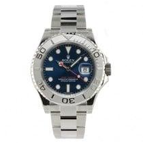 Rolex YACHT-MASTER 40 Steel & Platinum Blue Dial 116622