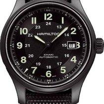 Hamilton Khaki Titanium H70575733 Herren Automatikuhr Sehr gut...