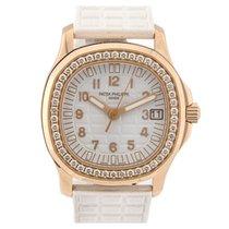 Patek Philippe Aquanaut Rose Gold Diamond Bezel 5068R