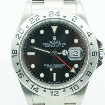 Rolex Explorer II Stainless Steel Black Dial 16570T