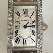 Cartier Tank Américaine White gold 19mm Roman numerals