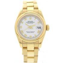 Rolex Datejust 18K Yellow Gold Watch 179168
