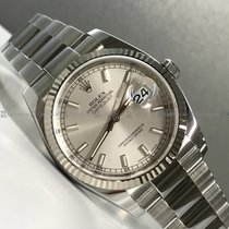 Rolex - Date Just 116234 Silver Dial Steel