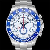 Rolex Yacht-Master II neu Automatik Uhr mit Original-Box und Original-Papieren 116680