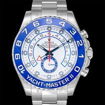 Rolex Steel Automatic White new Yacht-Master II
