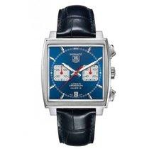 TAG Heuer Monaco Calibre 12 Staal 39mm Blauw Geen cijfers Nederland, Den Haag