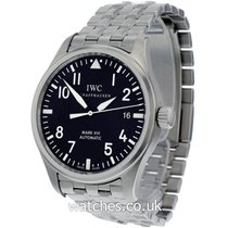 IWC Pilot Mark Steel 39mm Black Arabic numerals United Kingdom, London