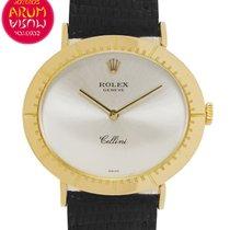 Rolex Cellini Zuto zlato 32,5mm