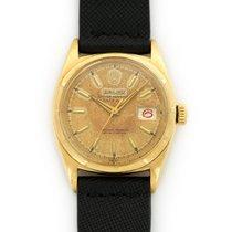 Rolex 6605 Or jaune 1960 Datejust 36mm occasion