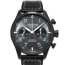 Alpina Steel 44mm Automatic AL-860GB4FBS6 new