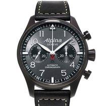 Alpina Startimer Pilot Automatic neu Automatik Chronograph Uhr mit Original-Box und Original-Papieren AL-860GB4FBS6