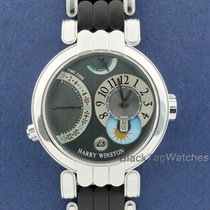 Harry Winston White gold Manual winding 39mm pre-owned Premier