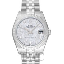 Rolex Lady-Datejust nuevo Automático Reloj con estuche y documentos originales 178274 G