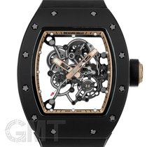 Richard Mille usados Cuerda manual 49.9mm Transparente Cristal de zafiro 3 ATM