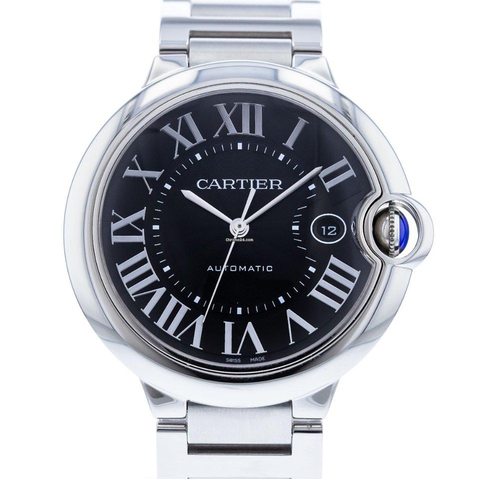 Ballon Bleu Stainless And Cartier Steel Bezel Bracelet W6920042 With Watch PukXiZ