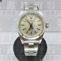 Rolex Steel 24mm Automatic ROLEX Lady's Oyster Perpetual Domino's 67180 24mm n0255 pre-owned