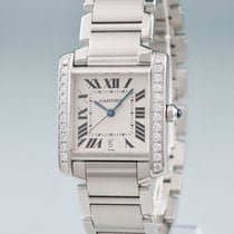 Cartier Steel 28mm Automatic pre-owned
