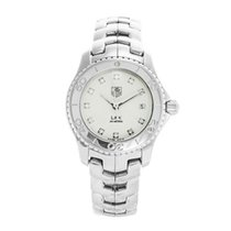 TAG Heuer Link Lady new 2004 Watch with original box and original papers Tag Heuer Women's WJ1319.BA0572 Link Diamond Stainless Steel