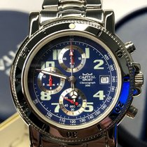 CAPITAL Chronograph 50M ref. SR/AX610 new