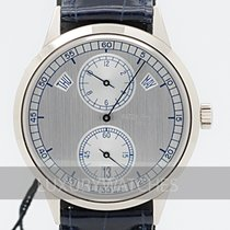 Patek Philippe Annual Calendar White gold 40.5mm Silver
