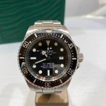 Rolex Ceramika Automatyczny Czarny Bez cyfr 44mm używany Sea-Dweller Deepsea