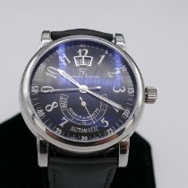 Schwarz Etienne Steel 42mm Automatic WRO03AE01SS02AAA new