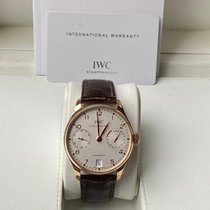 IWC Portuguese Automatic Red gold 42.3mm White Arabic numerals