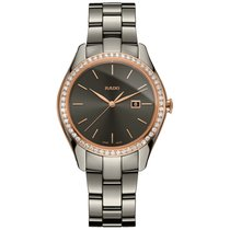 Rado HyperChrome Diamonds new Quartz Watch with original box and original papers R32125102 or 01.129.0125.3.010