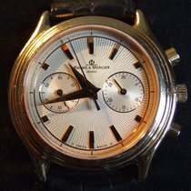 Baume & Mercier Milleis Chronograph Grand Modele 18kt Rose Gold